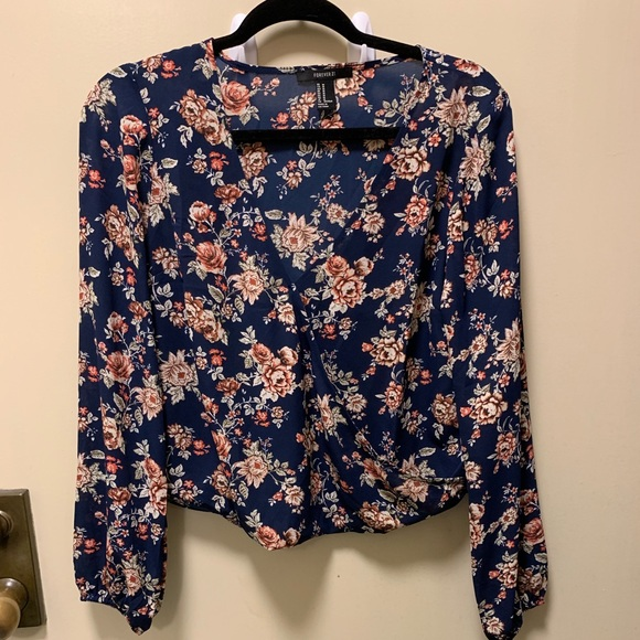 Forever 21 Tops - Flower-printed top